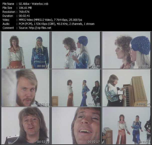 Abba video - Waterloo