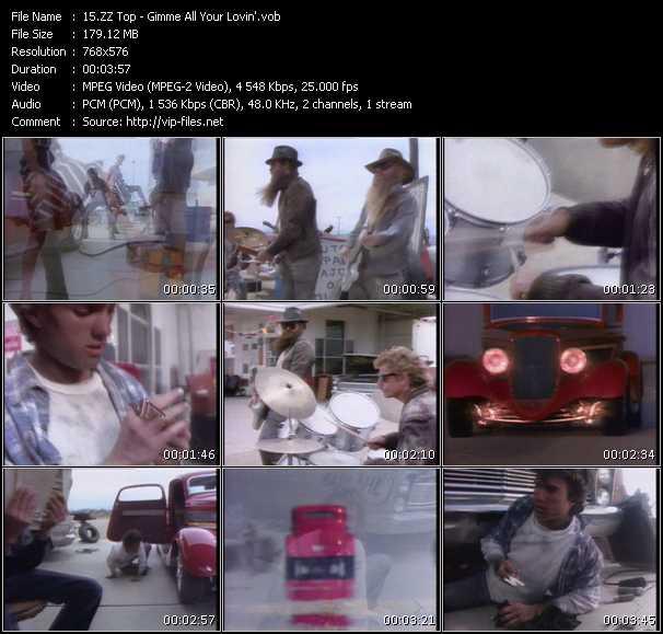 ZZ Top music video Publish2