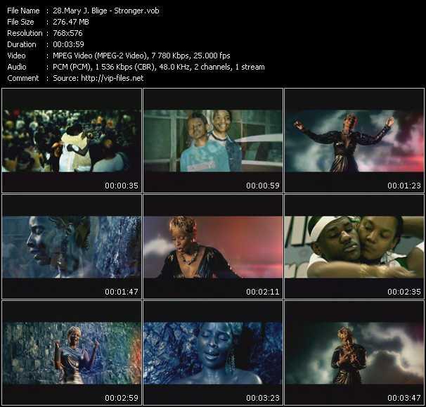 Mary J. Blige video - Stronger