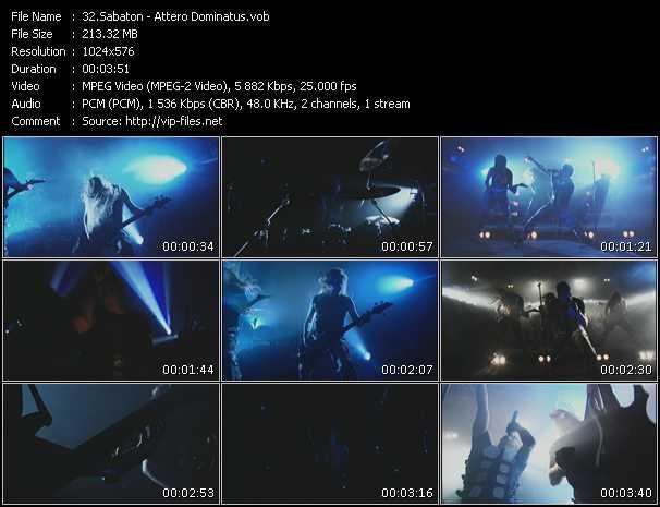 Sabaton music video Publish2