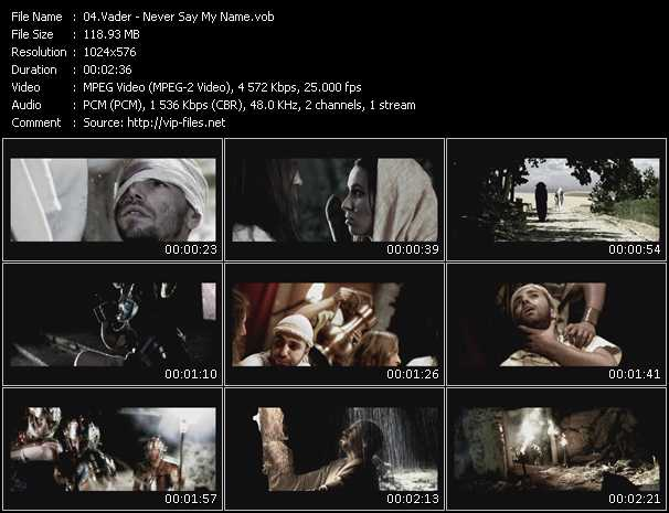 Vader music video Publish2