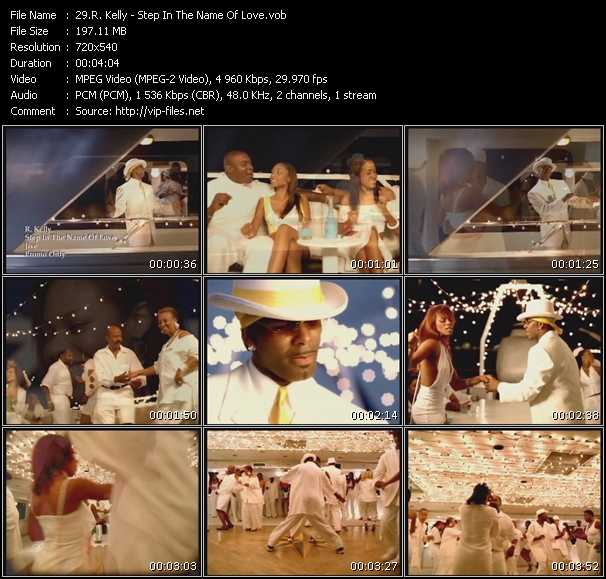 R. Kelly video - Step In The Name Of Love
