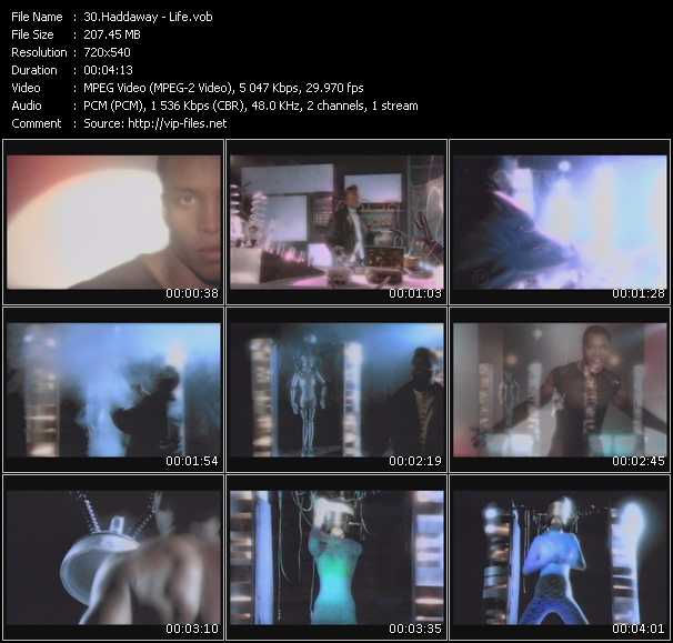 Haddaway video - Life