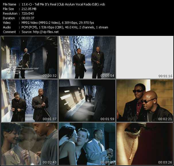 K-Ci And JoJo video - Tell Me It's Real (Club Asylum Vocal Radio Edit)
