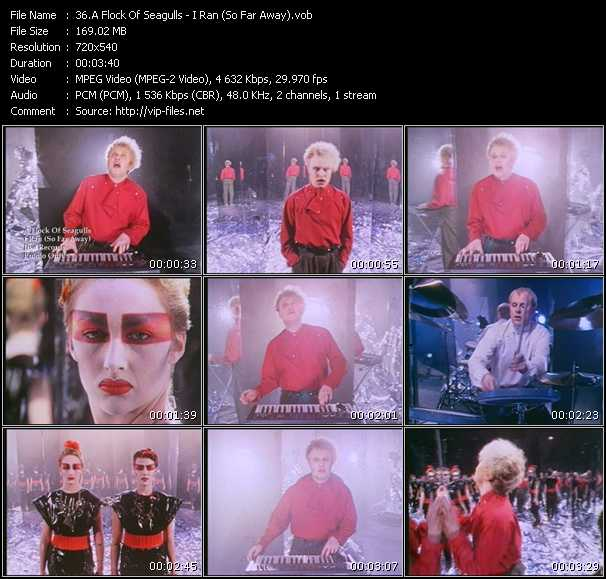 A Flock Of Seagulls music video Publish2