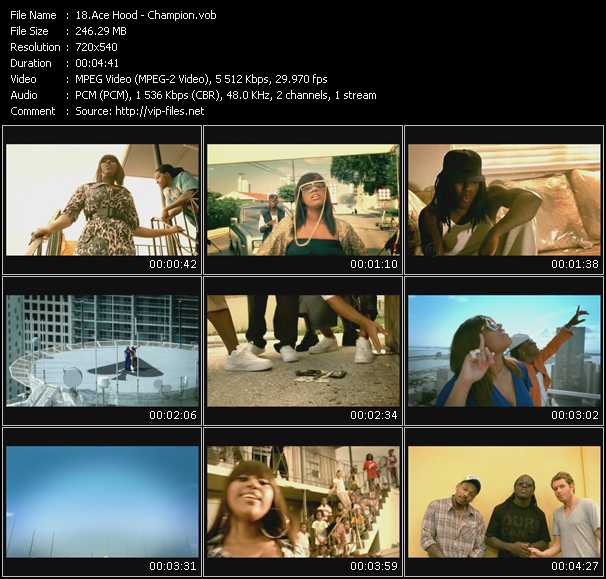 Ace Hood video - Champion