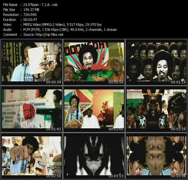 K'Naan music video Publish2