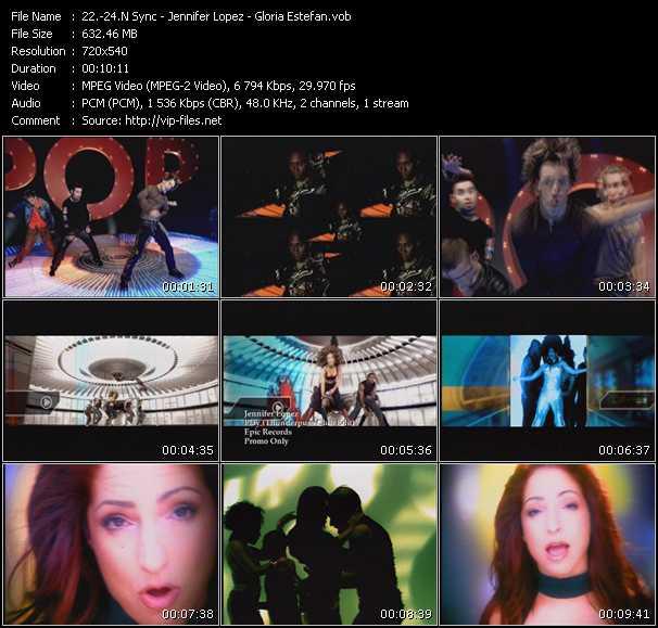 N'Sync - Jennifer Lopez - Gloria Estefan music video Publish2