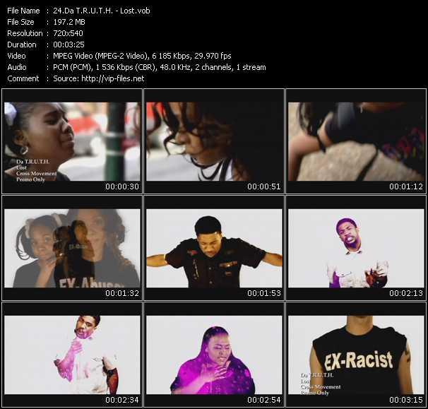 Da T.R.U.T.H. video - Lost