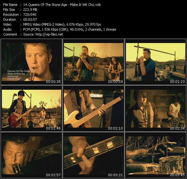 Queens Of The Stone Age video - Make It Wit Chu