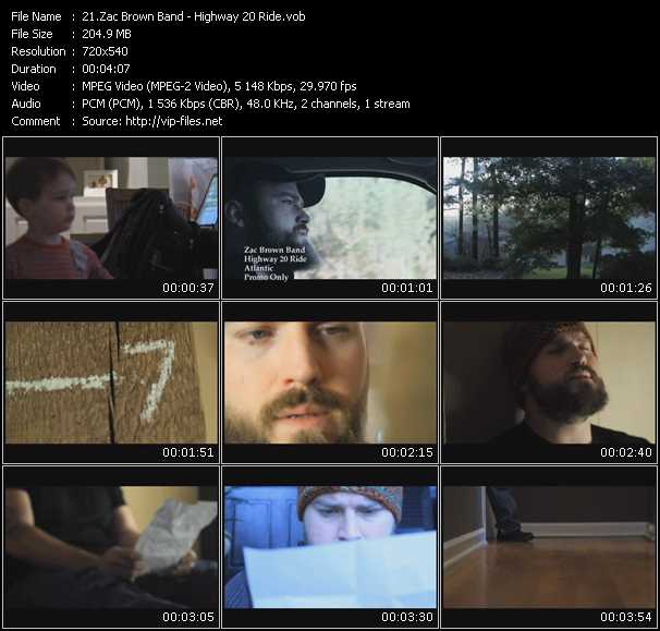 Zac Brown Band music video Publish2