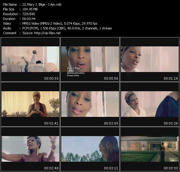 Mary J. Blige video - I Am