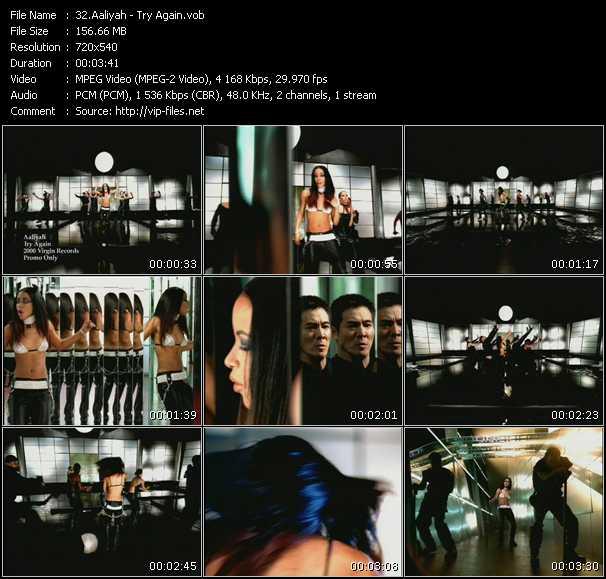 Aaliyah video - Try Again