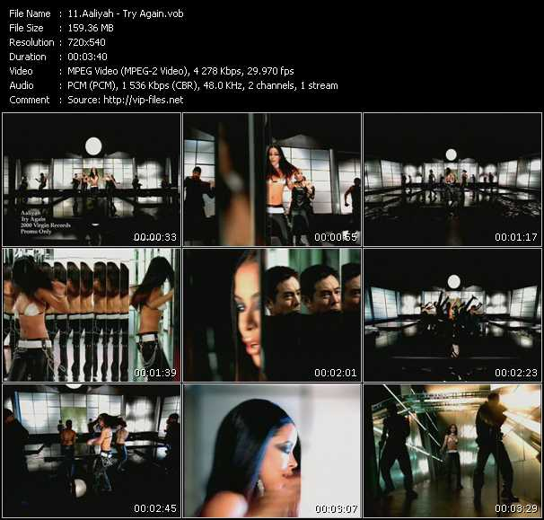 Aaliyah music video Keep2share