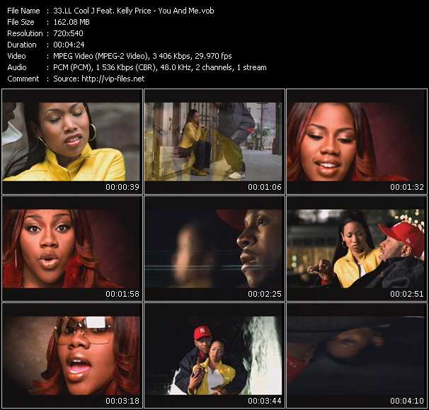 LL Cool J Feat. Kelly Price video - You And Me