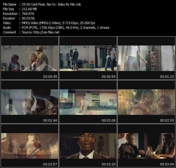 50 Cent Feat. Ne-Yo video - Baby By Me