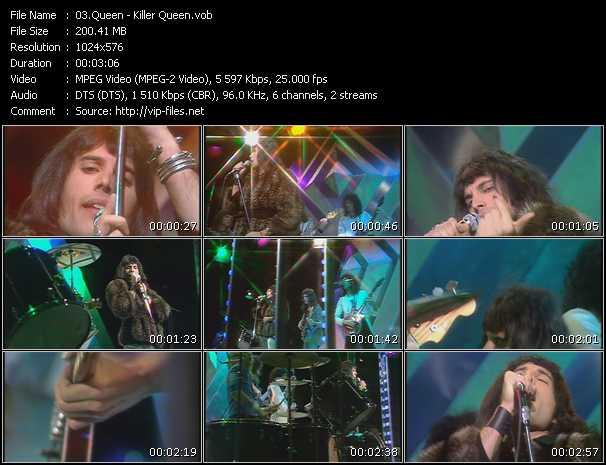 Queen video - Killer Queen