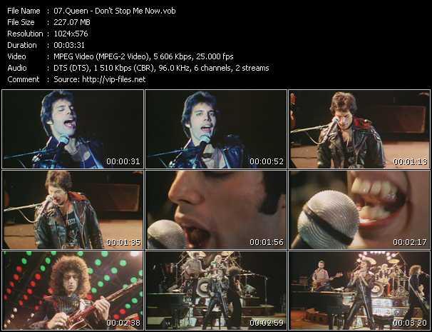 Queen video - Don't Stop Me Now