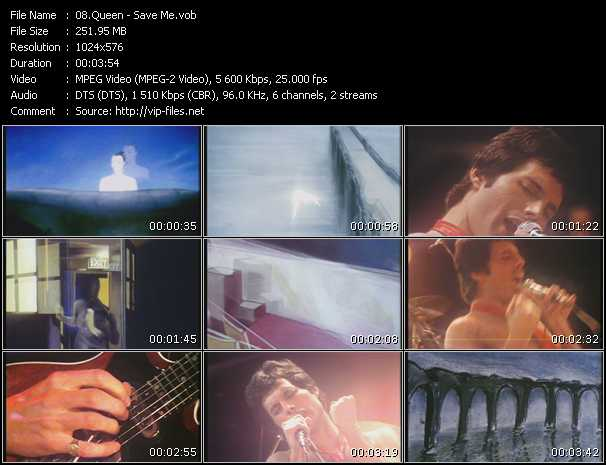 Queen video - Save Me