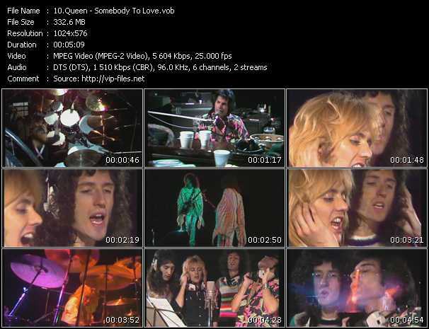 Queen video - Somebody To Love