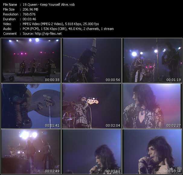 Queen video - Keep Yourself Alive