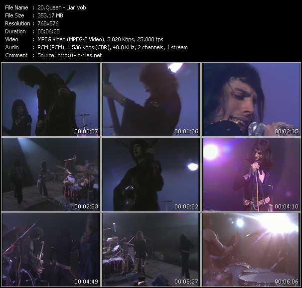 Queen video - Liar