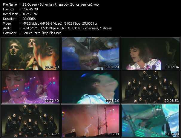 Queen video - Bohemian Rhapsody (Bonus Version)