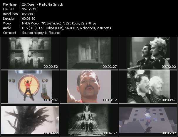Queen video - Radio Ga Ga