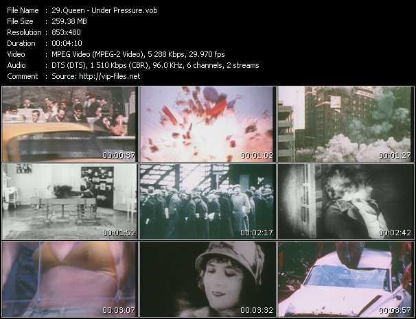 Queen video - Under Pressure