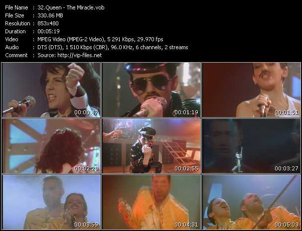 Queen video - The Miracle