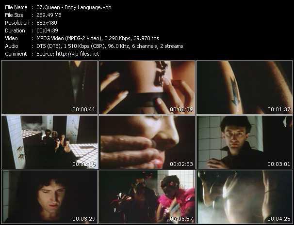 Queen video - Body Language