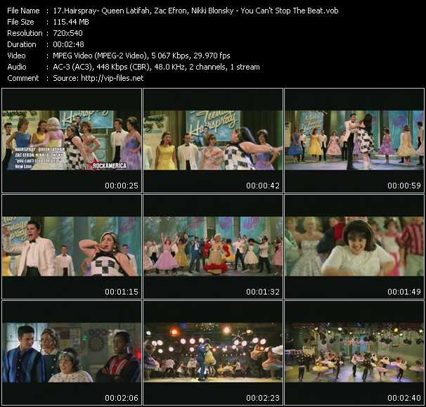 Hairspray Queen Latifah, Zac Efron, Nikki Blonsky music video Publish2