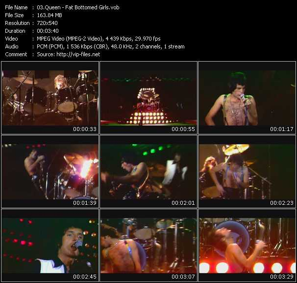 Queen video - Fat Bottomed Girls