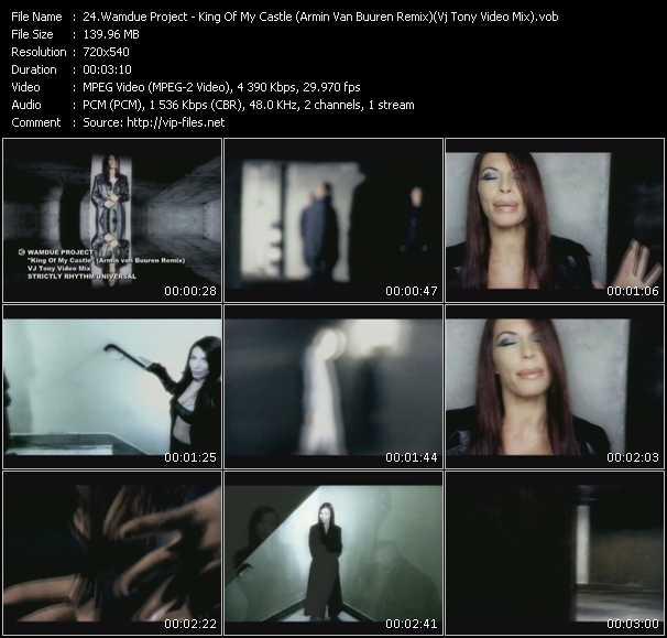 Wamdue Project video - King Of My Castle (Armin Van Buuren Remix) (Vj Tony Video Mix)
