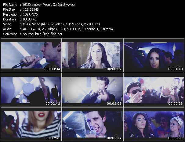 Example video - Won't Go Quietly