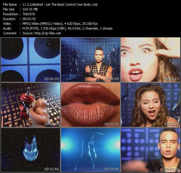 2 Unlimited video - Let The Beat Control Your Body