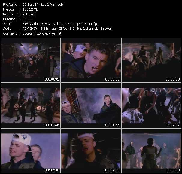 East 17 (E-17) video - Let It Rain