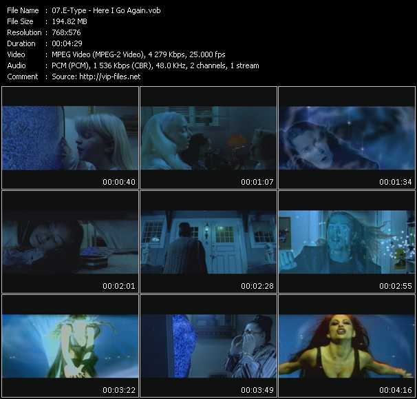 E-Type music video Publish2