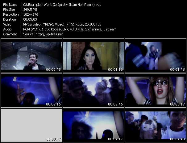 Example music video Publish2