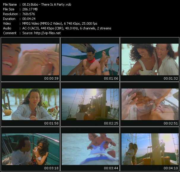 Dj Bobo video - There Is A Party
