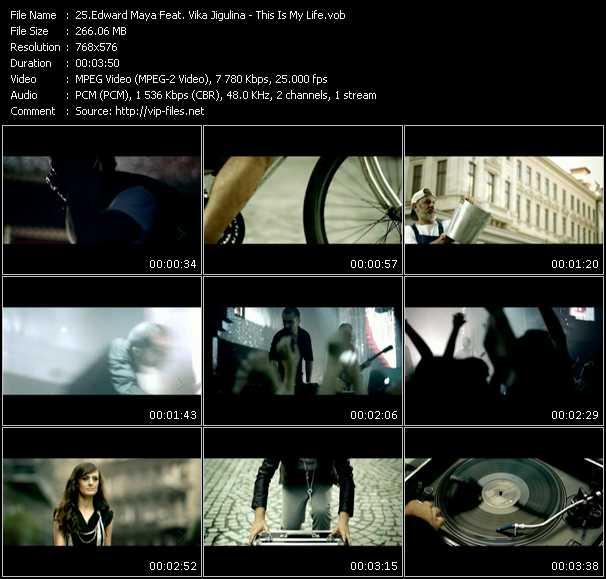 Edward Maya Feat. Vika Jigulina video - This Is My Life