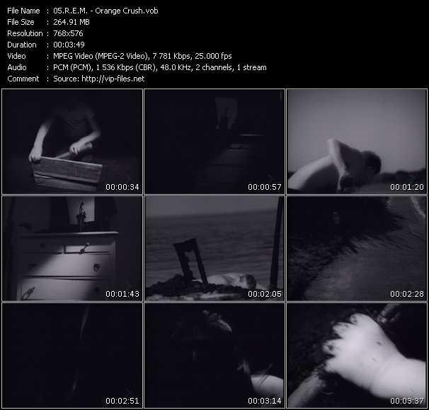 R.E.M. video - Orange Crush