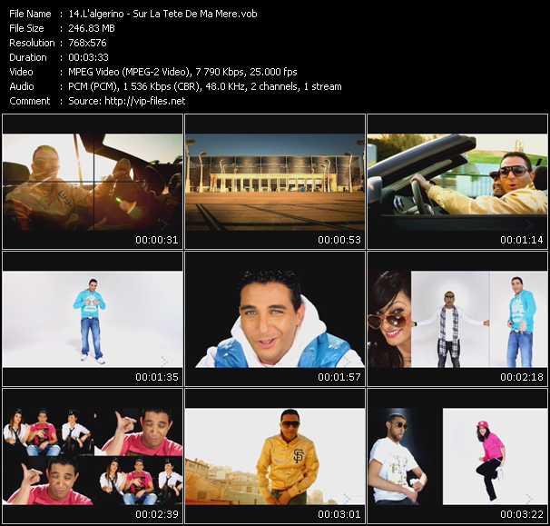 L'Algerino music video Publish2