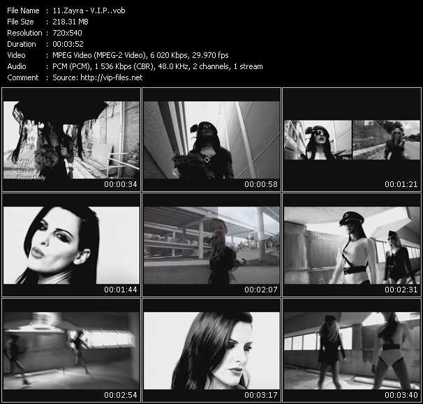 Zayra music video Publish2