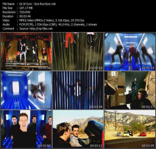 N'Sync video - Bye Bye Bye