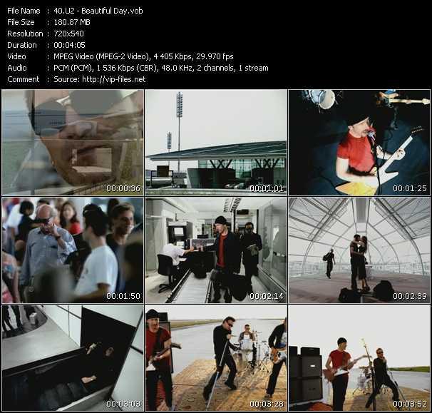 U2 video - Beautiful Day