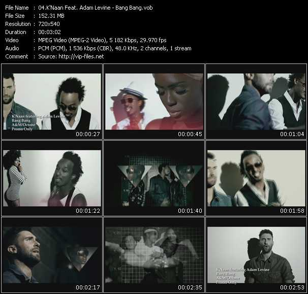K'Naan Feat. Adam Levine music video Publish2