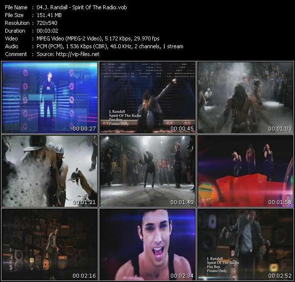 J. Randall music video Publish2