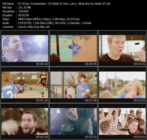 A Day To Remember music video Novafile