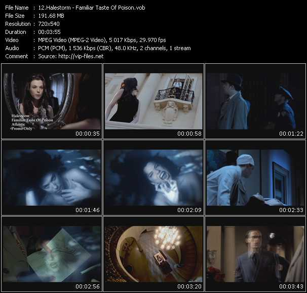 Halestorm music video Publish2